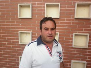 Il presidente del Real S.Erasmo Pasquale Galluccio