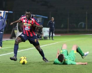 Karamoko Cissè in azione