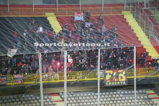 I tifosi rossoblù a Foggia