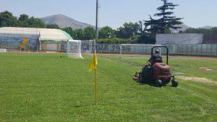 LE FOTO: il Pinto si prepara per il debutto della Casertana in Tim Cup