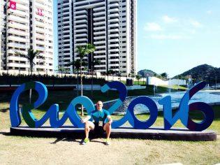 L'arrivo di Aristide Guerriero a Rio 2016