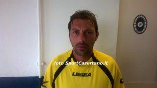 L'allenatore dell'Igea Virtus Giuseppe Raffaele (foto SportCasertano.it)