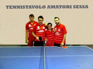 La C/1 del Tennis Tavolo Amatori Sessa
