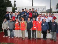 Il podio della Finale del Campionato Invernale di Società di Skeet