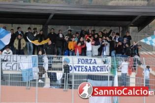 I tifosi del Montesarchio (foto SannioCalcio.it)