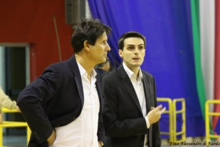 Coach Ignazio Nappa con l'assistente Luigi Bracciano