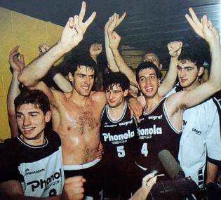 La festa nello spogliatoio di Milano