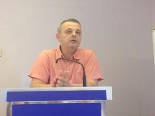 Il presidente Fabrizio Correra
