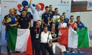 L'Italia sul podio, vincitrice del medagliere assieme alla Bulgaria