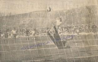 Casertana-Crotone 5-1, gol di Scarpa (Archivio storico Pasquale Fiorillo)