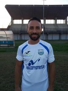 Antonio Gheremedin con la maglia della Real Maceratese