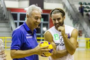 Antonio Di Santi e Coach Draganov
