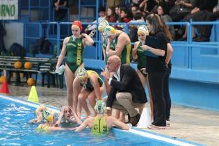 Napolitano istruisce il Volturno durante un time out (foto: sportcasertano.it)