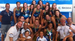 Il Rapallo U17 campione d'Italia (foto: FIN)