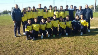 I Giovanissimi della Vis Carano Calcio