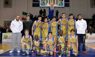 L'under 14 della Virtus Curti
