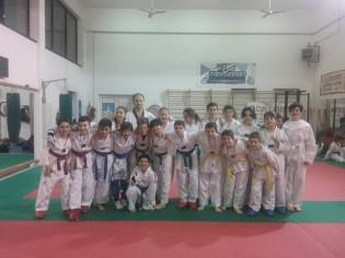 Gli atleti del Taekwondo Caserta, vittoriosi nei campionati Forme