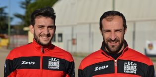 Vincenzo Capobianco e Pasquale Mazzone (foto Andrea Salzillo)