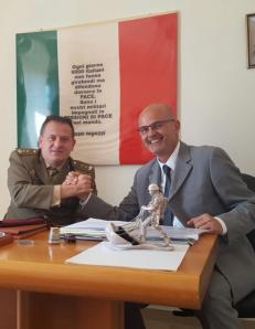 Il Ten. Col. Gianfranco Paglia