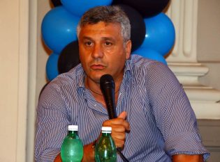L'allenatore Luigi Squillante