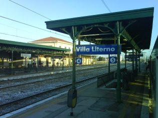 La stazione di Villa Literno